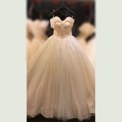 新娘结婚当天嫁衣影楼礼服馆专用款W1010820212-20 原图 均码