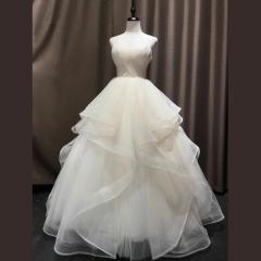 新娘结婚当天嫁衣影楼礼服馆专用款W1010820212-25 图片色 均码