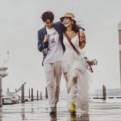 婚纱影楼工作室主题服装时尚潮流单女装旅拍风W901120111122 如图(单女装) 均码