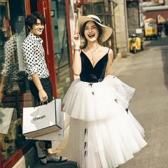 婚纱影楼工作室主题服装时尚潮流范儿情侣装W901120111131 图片色(组) 均码