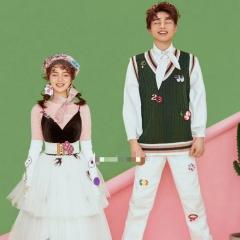 婚纱影楼工作室主题服装时尚潮流范儿情侣装W901120111132 图片色(组) 均码