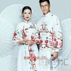 婚纱影楼工作室主题服装时尚潮流范儿情侣装W90102311121 图片色(组) 均码