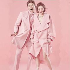 婚纱影楼工作室主题服装时尚潮流范儿情侣装W901023111211 图片色(组) 均码