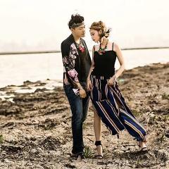 婚纱影楼工作室主题服装时尚潮流情侣装男女装W901120111218 图片色(组) 均码