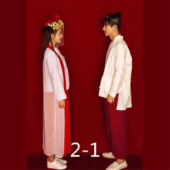 婚纱影楼工作室主题服装时尚潮流国潮风至尊宝W9010022-1 如图(组) 均码