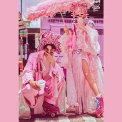 婚纱影楼工作室主题服装时尚潮流国潮风男女装W901002122411 如图(组) 均码