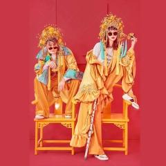 婚纱影楼工作室主题服装时尚潮流国潮风男女装W901002122412 如图(组) 均码