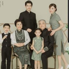 全家福服装主题一家六口家庭装拍照合影W905002110832 如图 均码