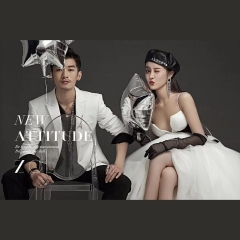 婚纱影楼工作室主题服装时尚潮流范儿情侣装W90102311098 如图(组) 均码