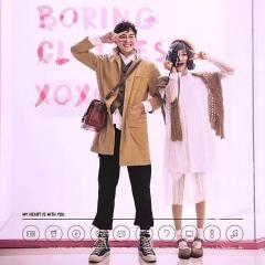 婚纱影楼主题服装时尚潮流范儿情侣装W901023110921 如图(组) 均码
