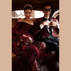 婚纱影楼工作室主题服装时尚潮流单女装旅拍风W9010630115-19 如图(单女装) 均码