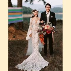 婚纱影楼工作室主题服装时尚潮流单女装旅拍风W901ASM0119-5 如图(单女装) 均码