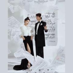 婚纱影楼工作室主题服装时尚潮流单女装旅拍风W901ASM0119-7 如图(单女装) 均码