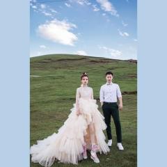 婚纱影楼工作室主题服装时尚潮流单女装旅拍风W901ASM0119-10 如图(单女装) 均码