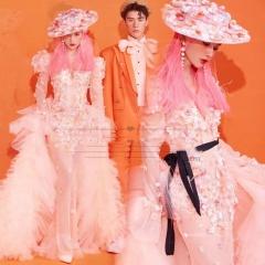 婚纱影楼工作室主题服装时尚潮流单女装旅拍风W901ASM0119-13 如图(单女装) 均码