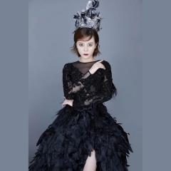 婚纱影楼工作室主题服装时尚潮流单女装旅拍风W901ASM0119-16 如图(单女装) 均码