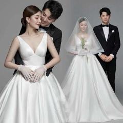 婚纱影楼工作室主题服装时尚潮流单女装旅拍风W9010560119-20 如图(单女装) 均码