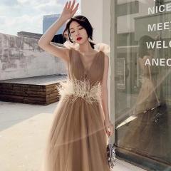 婚纱影楼工作室主题服装时尚潮流单女装旅拍风W9011310119-21 如图(单女装) 均码