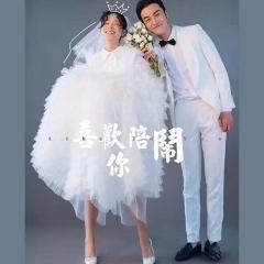 婚纱影楼工作室主题服装时尚潮流单女装旅拍风W9010490119-22 如图(单女装) 均码