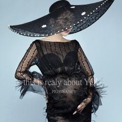 影楼工作室拍照款时尚潮流范儿孕妇装W9030233072 图片色 均码