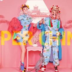 影楼工作室主题服装时尚国潮风含头饰W9010020718-1 如图(组) 均码