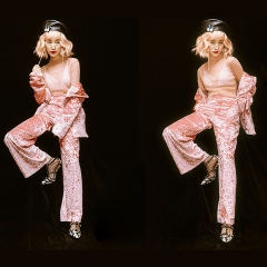 影楼工作室主题服装拍照款时尚写真服W9020024-191 图片色 均码