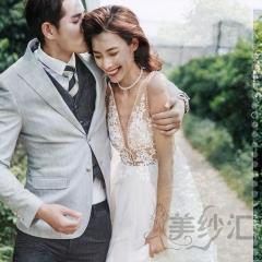 婚纱摄影工作室拍照款旅拍风单女装双肩深VW901011g-2275 如图(单女装) 均码