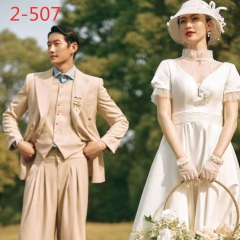 婚纱影楼工作室拍照款情侣装W9010022-507 如图(组) 均码