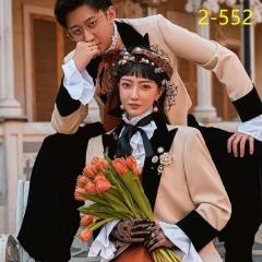 婚纱影楼工作室拍照款情侣装W9010022-552 如图(组) 均码