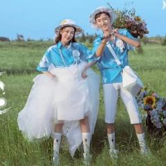 婚纱影楼工作室拍照款情侣装W9010020320-38 如图(组) 均码