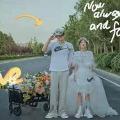 婚纱影楼工作室拍照款情侣装W901028XQ454 如图(组) 均码