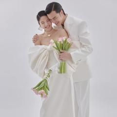 影楼工作室拍照款旅拍风单女装W9011200403-07 如图(单女装) 均码