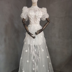影楼工作室拍照款旅拍风单女装W9011200405-06 如图(单女装) 均码