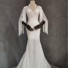 影楼工作室拍照款旅拍风单女装W9011200405-10 如图(单女装) 均码