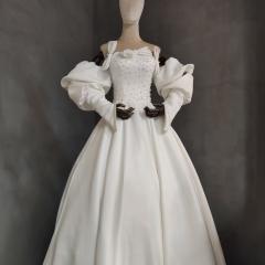 影楼工作室拍照款旅拍风单女装W9011200405-12 如图(单女装) 均码