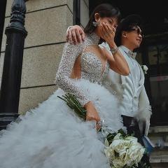 影楼工作室拍照款旅拍风单女装W9011200405-14 如图(单女装) 均码