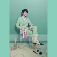 韩版修身男士两件套西装主持人舞台装影楼拍照西装3010070421-11 如图 58码
