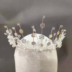 精品拍照新娘金色皇冠HC30815150 (1)250