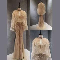 影楼工作室拍照款显瘦唯美随身礼服W2010760407-08 图片色 4码