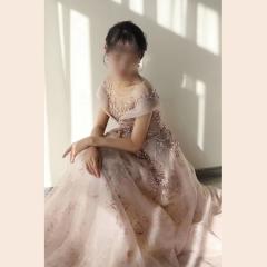 影楼工作室拍照包肩高端晚宴礼服W2010790409-29 图片色 均码