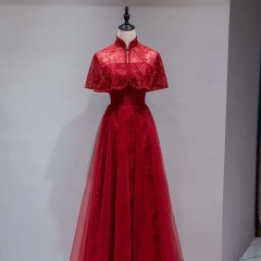 一衣两穿影楼工作室礼服馆新娘嫁衣敬酒服W2010620514-04 图片色 均码