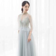 主持人歌唱表演赛礼服随身礼服W2010831226-14 图片色 均码