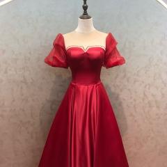 红色新娘结婚当天嫁衣敬酒服W2010830108-7 图片色 均码