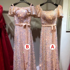 主持人歌唱表演赛礼服随身礼服W2011310117-3 均码 A款