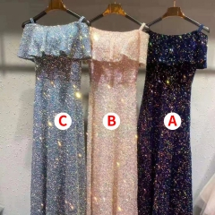 主持人歌唱表演赛礼服随身礼服W2011310117-5 均码 A