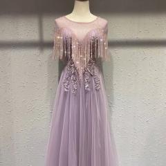 主持人歌唱表演赛礼服随身礼服W2011310117-9 图片色 均码