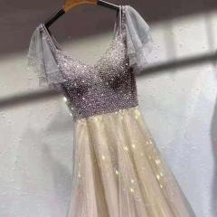 主持人歌唱表演赛礼服随身礼服W2011310117-10 图片色 均码
