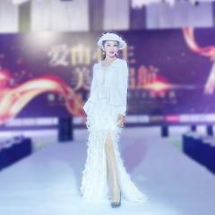 主持人歌唱表演赛礼服随身礼服W2010160126-7 图片色 均码