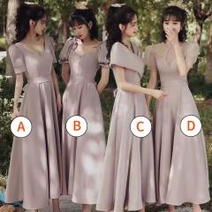 伴娘服姐妹装姐妹团伴娘服长款礼服W2010880313-20 图片色 A(单件)