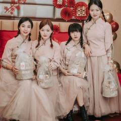 伴娘服姐妹装姐妹团伴娘服长款礼服W2011390324-12 图片色 单款(单件)